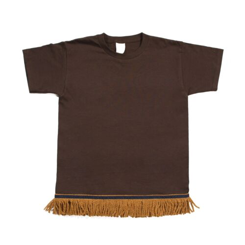 Starting at $12.99 Chocolate Brown Fringed Tshirt