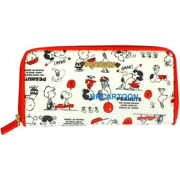 JAPAN VERSION SNOOPY LONG WALLET CANVAS PURSE CARD PACKAGE 389805
