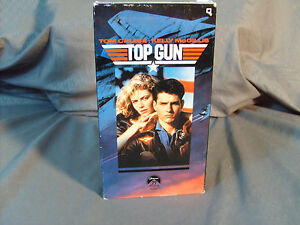 Top-Gun-VHS-1987-Tom-Cruise-Halloween-Cosplay-Vintage