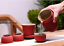 newly listed Portable tea set persimmon design office cup with infuser tea cups