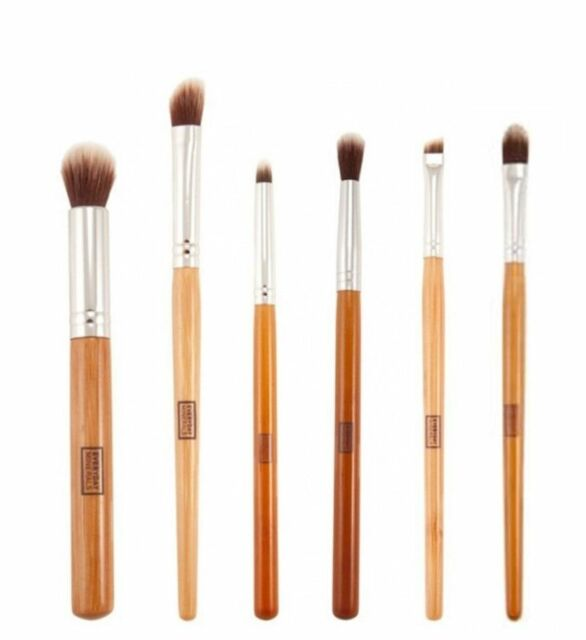 6 pcs Eye Essential Eyeshadow/Eyeliner/Crease/Blending Make up brushes brush se9