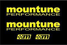 Mountune x4 sticker decal Set RS ST Focus fiesta