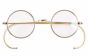 image is loading 39mm round vintage antique wire eyeglass frame reading - Wire Eyeglass Frames