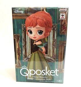 Disney Q Posket Minifigur Anna Coronation Style A Normal Color Version 14 cm