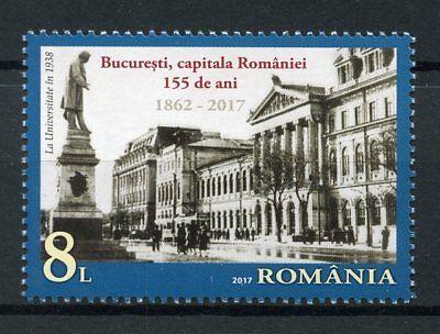 Krachtig Romania 2017 Mnh Bucharest Capital 155 Years 1v Set Architecture Tourism Stamps Beroemd Om Hoogwaardige Grondstoffen, Een Breed Scala Aan Specificaties En Formaten, En Een Grote Verscheidenheid Aan Ontwerpen En Kleuren