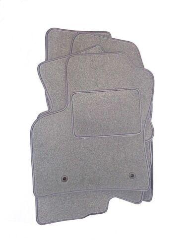 GRIGIO chiaro velluto TAPPETINI AUTO tappeti accurata MERCEDES GLC anno fabbricazione 2015