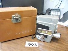 Vintage REVERE EYE-MATIC SPOOL EIGHT MODEL CA-2 VINTAGE 8mm MOVIE CAMERA W/ CASE