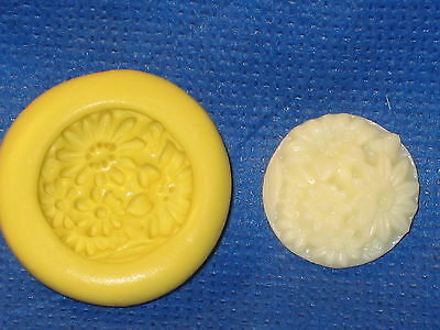 Daisy Flower Silicone Push Mold #613 For Resin Clay Candy Chocolate Craft
