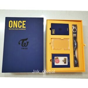Twice-Once-2nd-Membership-Official-Fan-Kit-Limited-Free-Tracking-Number