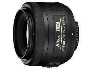 Lichtstarkes Portrait Objektiv Nikon AF-S DX 35/1.8G für D7500 D7200 NEUWARE