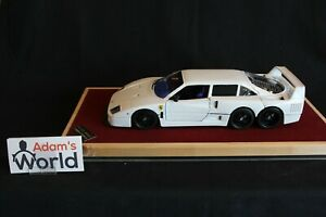 RP-Model-Ferrari-F40-Stretched-Limo-1-18-white-PJBB-Very-rare