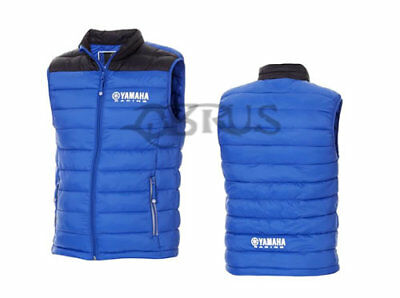 Genuine Yamaha 18 Paddock Blue Men/'s Fleece Jacket ATV QUAD MOTORCROSS