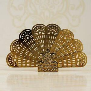 Dollhouse-Miniature-House-Classics-brass-Peacock-Fire-Screen-HOT-scale-1-12-X4W5