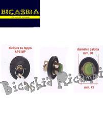7092 - TAPPO SERBATOIO BENZINA PIAGGIO APE MP 500 600 601 BICASBIA CERIGNOLA