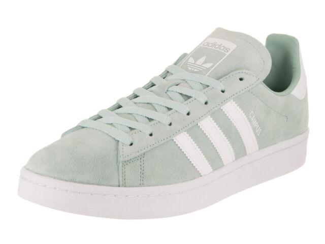 hot sale online 22de6 9a696 Mens adidas Originals Campus Shoes SNEAKERS Size 9 Color Ash Green
