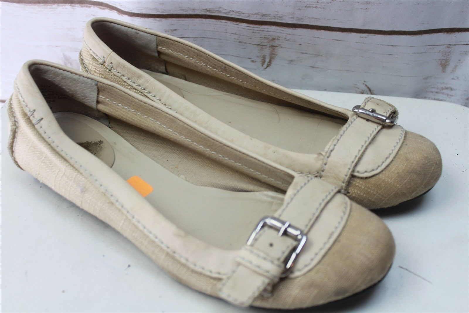 A.N.A. Tan Loafers 9.5 M Women's Shoes