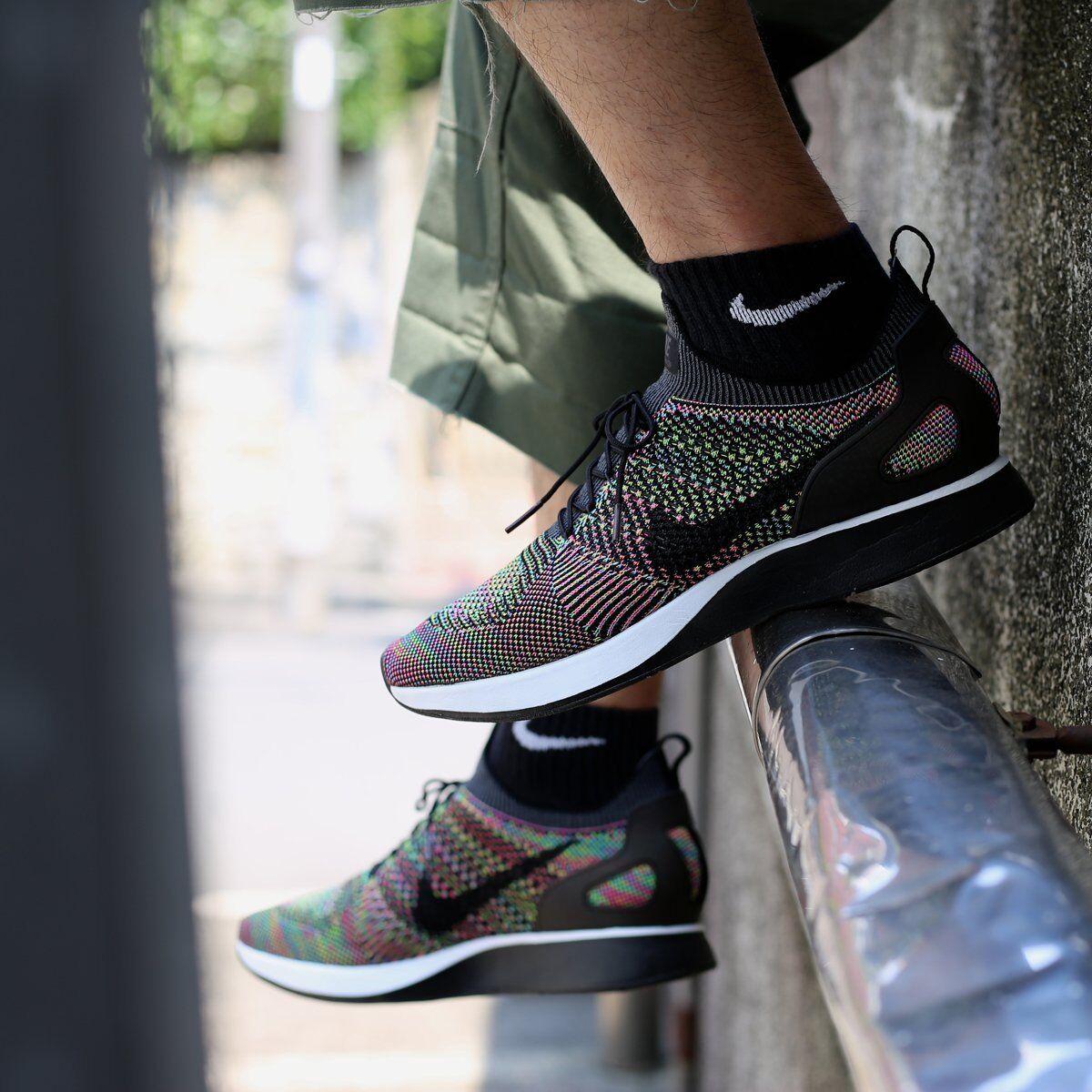 Men's Nike Flyknit Mariah Running Sneakers New Multicolord 918264-101
