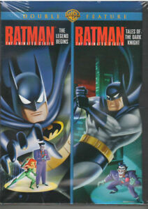 Batman-Animated-Double-Feature-Legend-Begins-amp-Tales-of-Dark-Knight-DVD-NEW