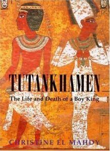 Tutankhamen-The-Life-and-Death-of-the-Boy-king-by-El-Mahdy-Christine-Hardback