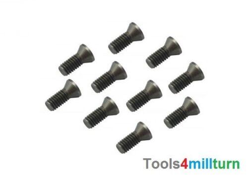 Torx Schrauben M4 x 8mm TX15 für Wendeplattenhalter 10 Stück Neu