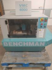 1996 Benchman Vmc 4000 Cnc Milling Machine Needs Computer Controllersoftware