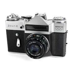 Cámara SLR ZENIT E 35mm De Cine Vintage Retro Lomo Con Lente De 50mm