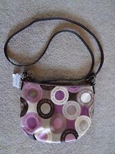Coach Alexandra Snaphead Scarf Print Shoulder Bag Crossbody Small Pink Magenta