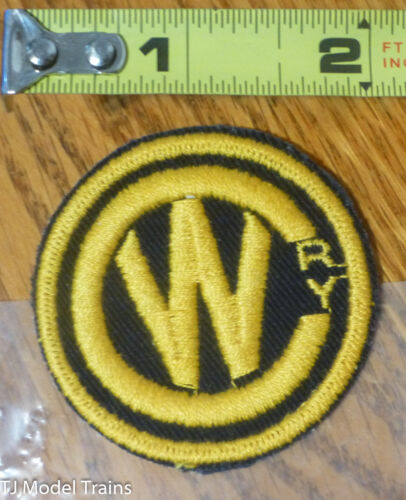 Yellow /& Black Railroad Patch Patch #183 CW Ry