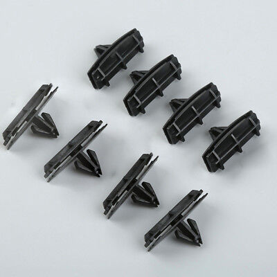 25 Fender Flare Panel Moulding Clips For Jeep Wrangler Unlimited JK Black Parts