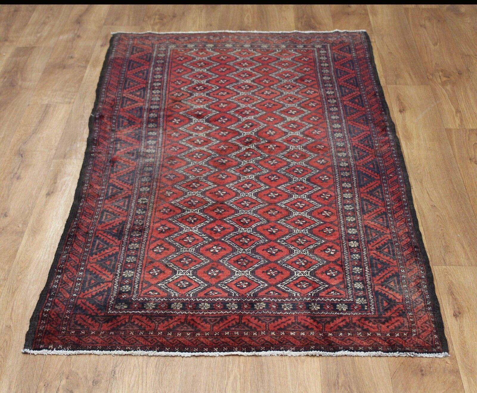 Tradizionale lana vintage 175cmX 90cm Tappeto orientale fatto a mano mano mano Carpet Rugs a43e15
