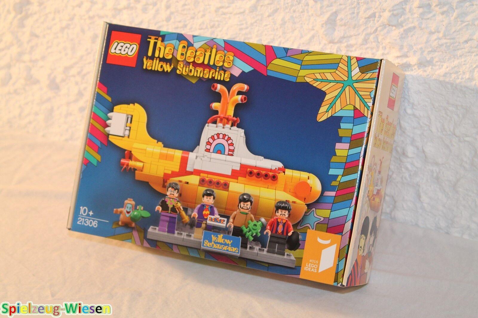 LEGO® IDEAS 21306 The Beatles Gelb Submarine - NEU & OVP -