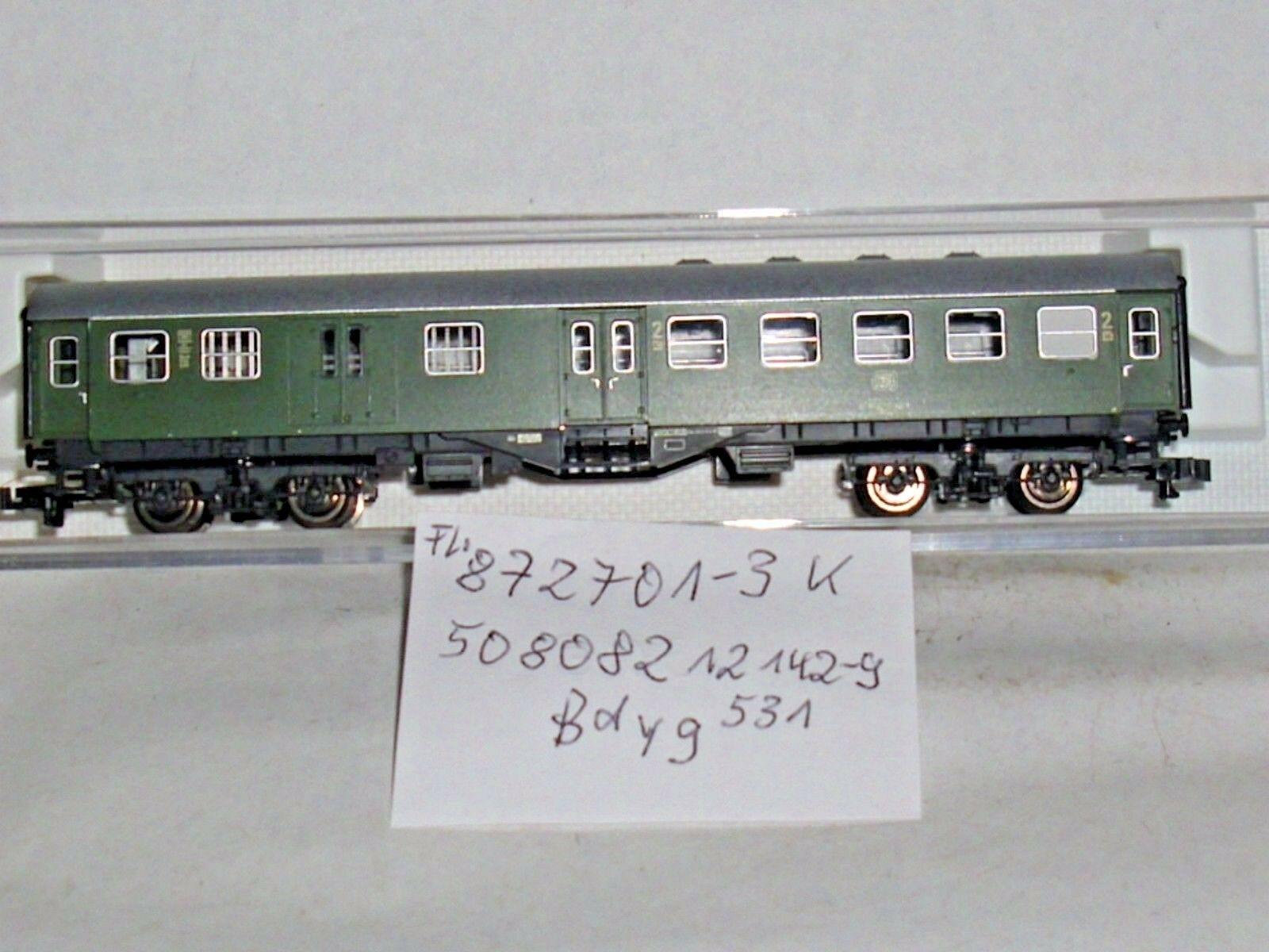 (52 18)Personenwagen,Silberling,d. DB, 4achs. Ep.5 4,Fl.8141 K,m.OVP,TOP Zust.    Online Outlet Shop