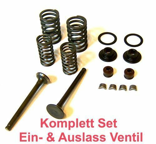 139QMB CHINA ROLLER SCOOTER ATV EINLASS /& AUSLASS VENTIL SET m ANBAUTEILEN z.B