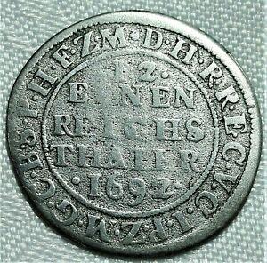 1-12-Taler-1692-WH-Emmerich-Brandenburg-Preussen-Friedrich-III-1688-1701-SS-VZ