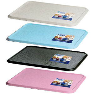 Cat-Bowl-Mat-Dog-Pet-Feeding-Water-Food-Dish-Tray-Wipe-Clean-Floor-Placemat