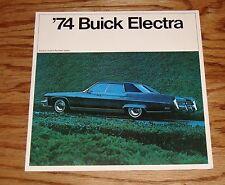 Original 1974 Buick Electra Sales Brochure 74