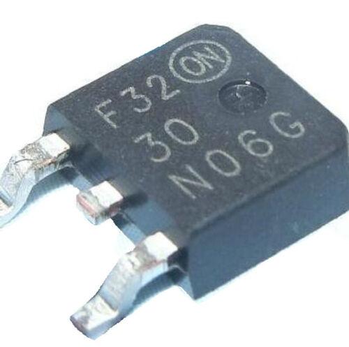 10pcs New Taiwan NTD30N06 MOS transistor transistor patch TO-252 30N06