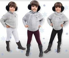 Winter Kids Leggings Thick Thermal Warm Childrens Age 1 2 3 4 5 6 7 8 9 10 11 12