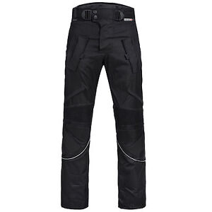 Limitless-hommes-motocycle-Combi-pantalon-cordura-textile-noir-M-4XL-303