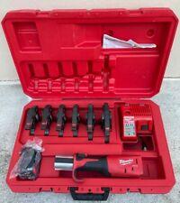 Milwaukee M18 2773 22 Force Logic Press Tool Kit With 12 2 Jaws Great Shape