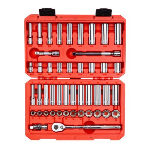 Drive Socket Set 3//8 in 47-pc TEKTON SKT15301-S Inch//Metric