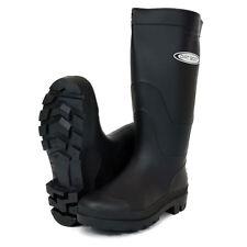 Dirt Boot® Ladies Mens Black & Green Festival Wellington Boots Wellies Gardening