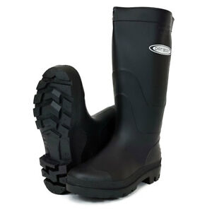Dirt-Boot-Ladies-Mens-Black-amp-Green-Festival-Wellington-Boots-Wellies-Gardening
