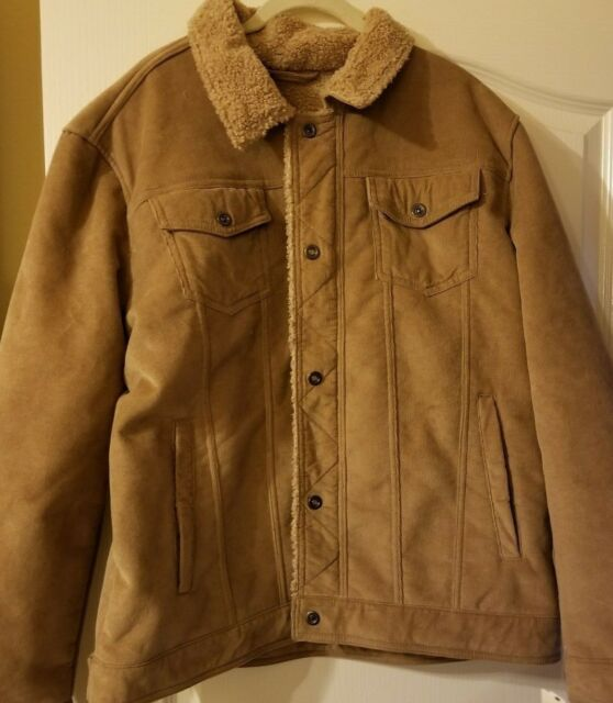 Lucky Brand Mens Ashby Corduroy Hipster Jacket