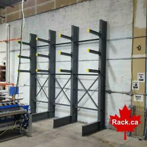 Cantilever Rack In Stock Ready to Ship - Largest selection and options available in Canada Ontario Preview