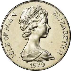 781119-Coin-Isle-of-Man-Elizabeth-II-Crown-1979-Pobjoy-Mint-AU-55-58