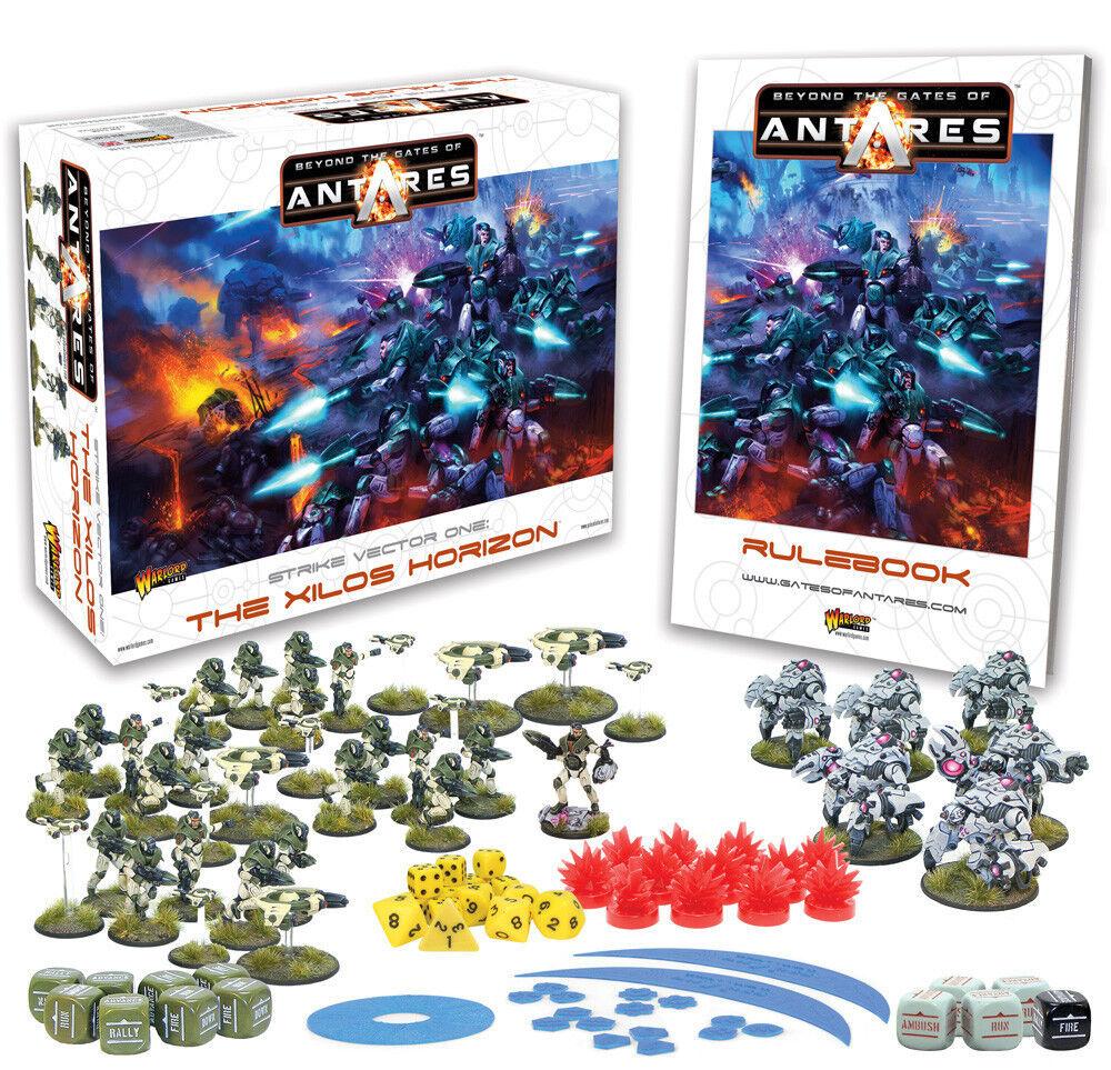 Beyond the Gates of Antares Starter Set box English plastic