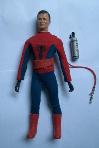 CAPTAIN ACTION SPIDER MAN ORIGINAL LOOSE IDEAL 1966