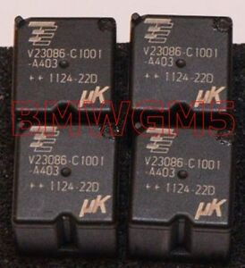 Qty-4-Tyco-V23086-C1001-A403-Relay-used-in-some-BMW-GM3-modules