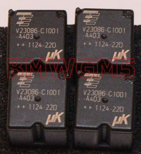 Qty 4 Tyco V23086-C1001-A403 Relay used in some BMW GM3 modules